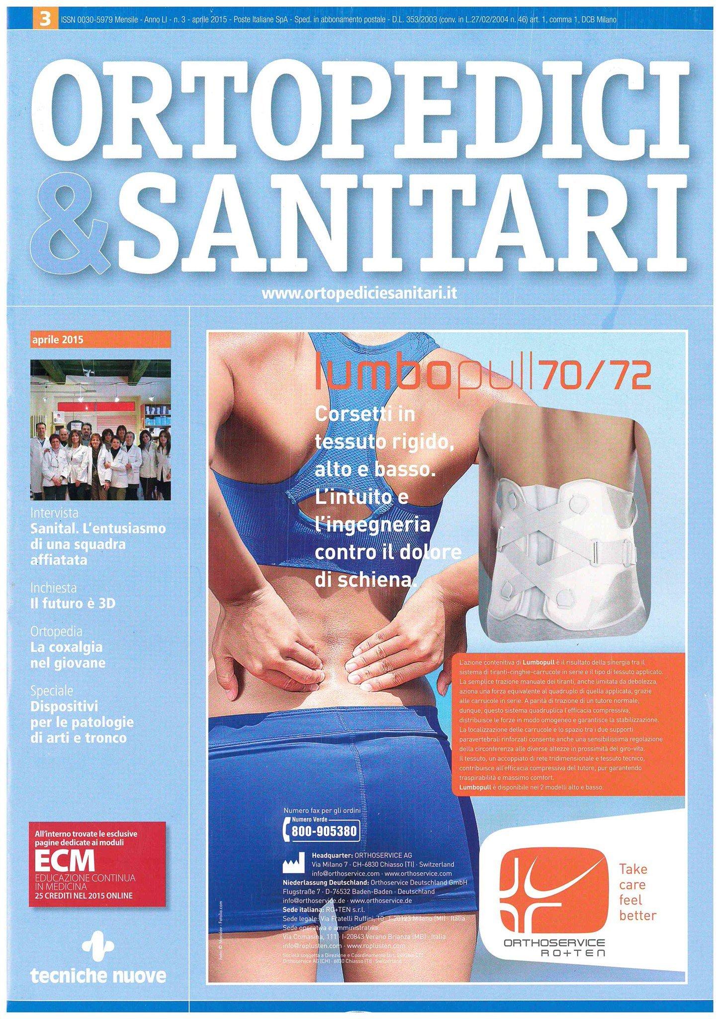 Ortopedici & Sanitari : intervista a Lorenza Flaviani 1