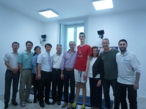 Il China Institute of Sport Science di Pechino in visita presso ORThesys 4