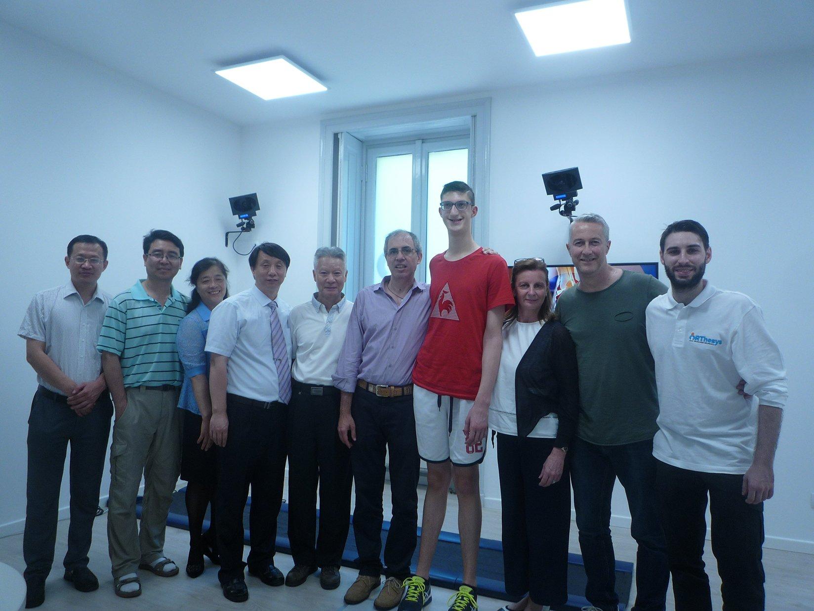 Il China Institute of Sport Science di Pechino in visita presso ORThesys 1