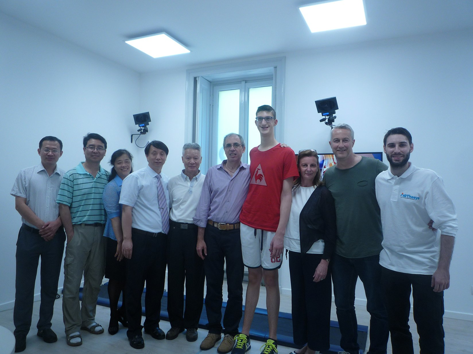 Il China Institute of Sport Science di Pechino in visita presso ORThesys 6